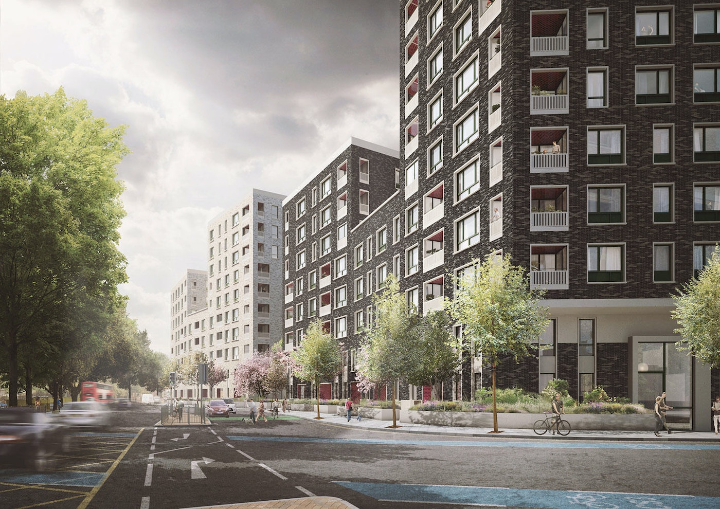 Haworth Tompkins Were Invited By Swan Housing And Metropolitan Workshop To Collaborate On The Second Phase Of Blackwall Reach Regeneration Project