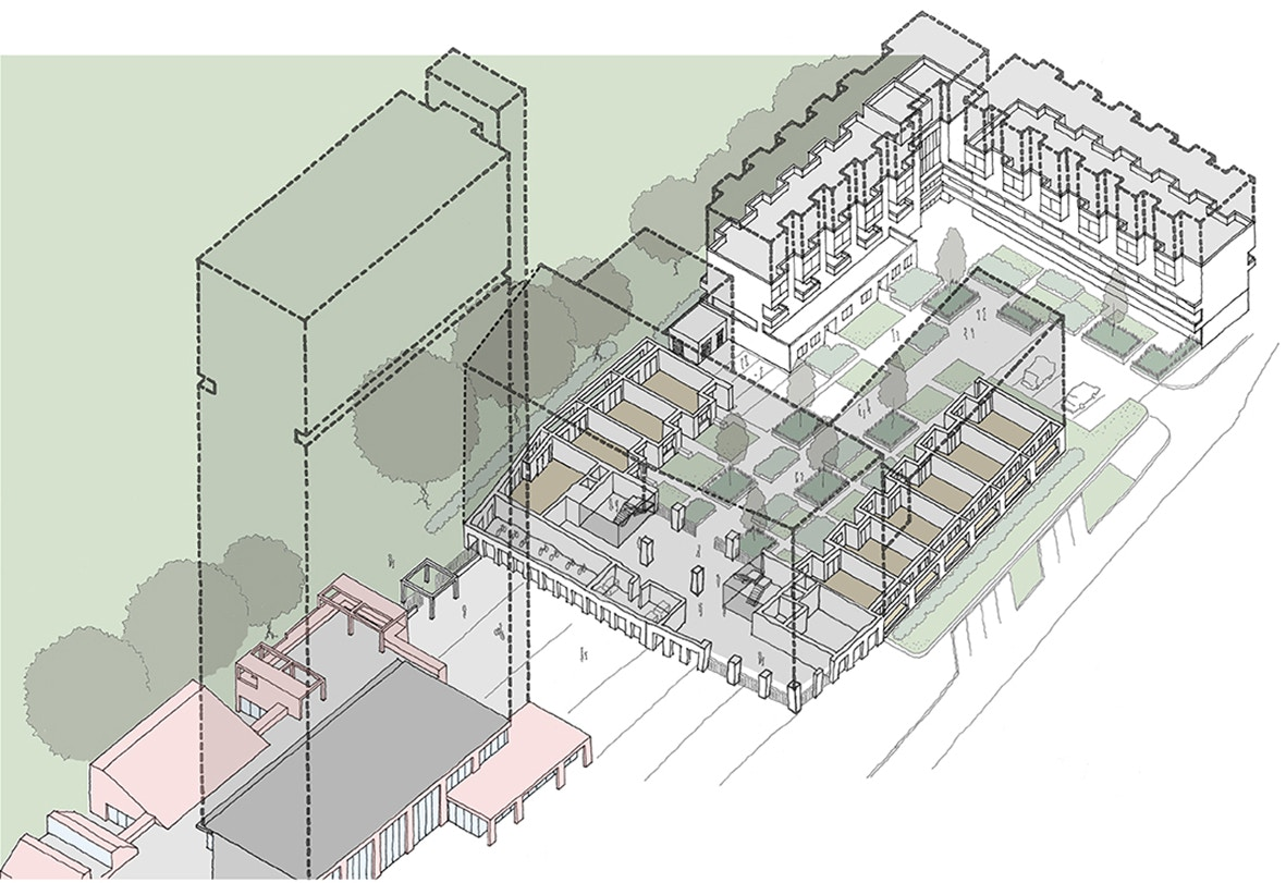 Maydew House and Bede Site Redevelopment - Haworth Tompkins